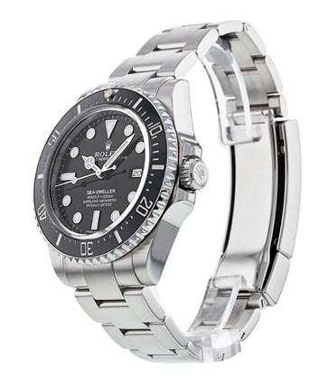 Rolex Sea-Dweller 116600 Orologio da uomo con quadrante nero da 40 mm