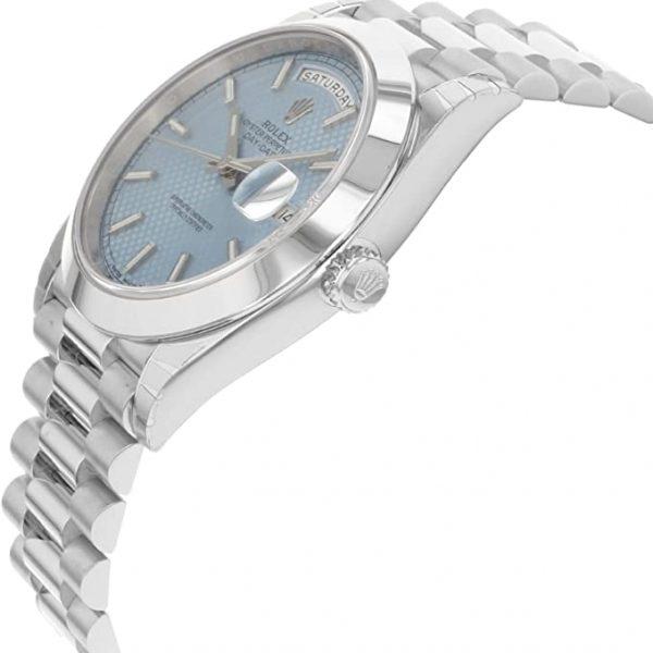 Rolex Day-Date 228206 Orologio da uomo con quadrante blu da 40 mm